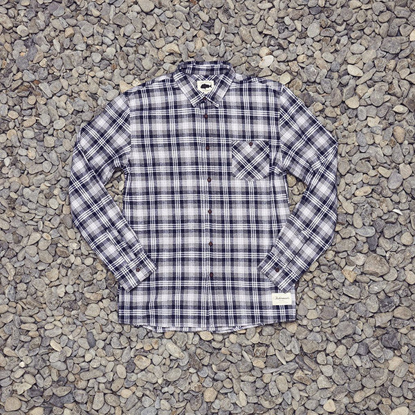 Just Another Fisherman Boatyard Shirt - Blue Check