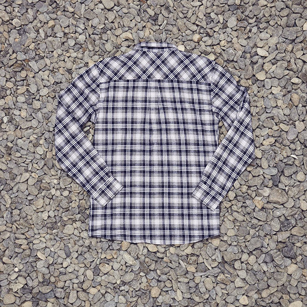 Just Another Fisherman Boatyard Shirt in Blue Check