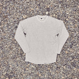 Just Another Fisherman Waffle L/S Tee - Grey Marle
