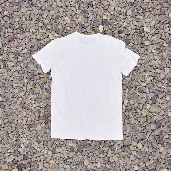 Just Another Fisherman Tug Tee in White