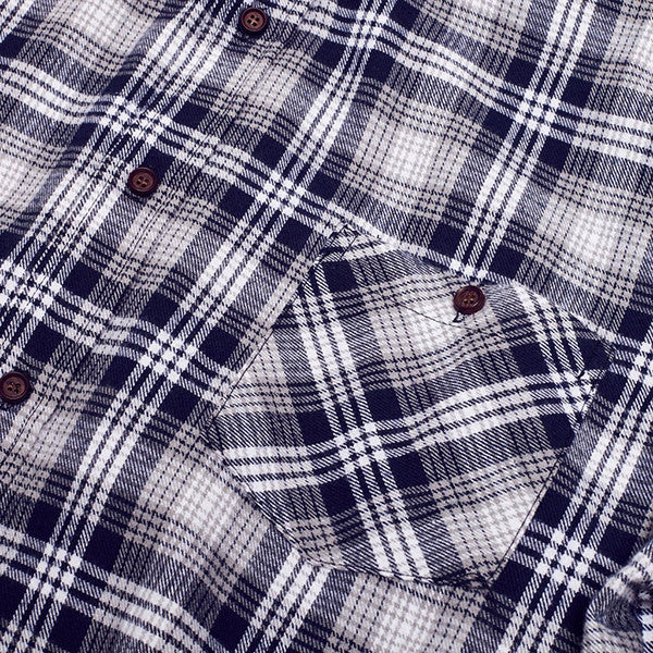 Just Another Fisherman / Boatyard Shirt - Blue Check