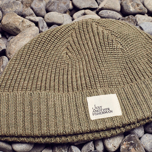 Just Another Fisherman Ledger Beanie in Khaki