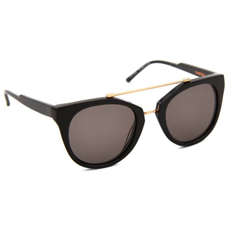 Kaibosh Junebug Remix Sunglasses in Solid Black