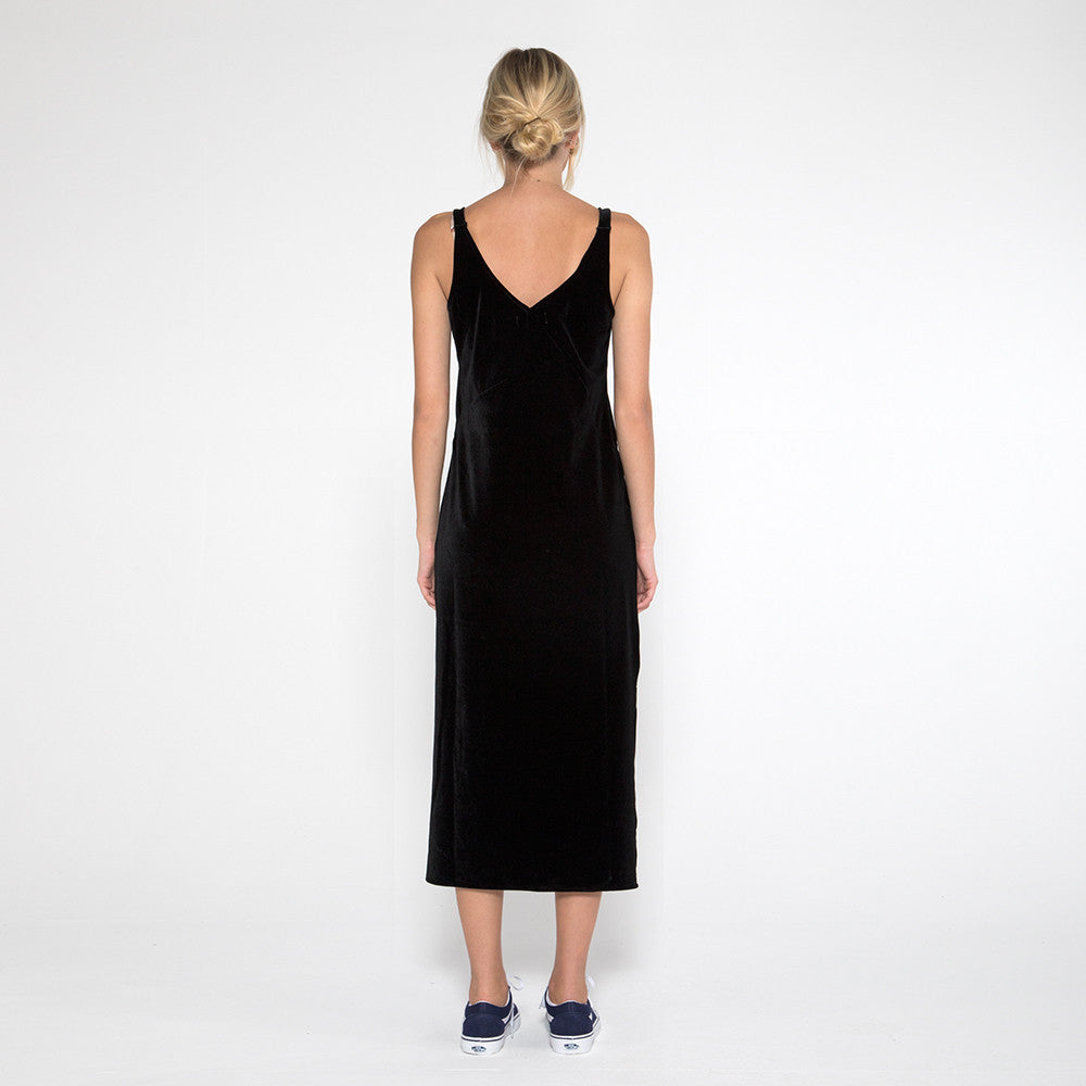 Now & Then Karen Slip Dress Black