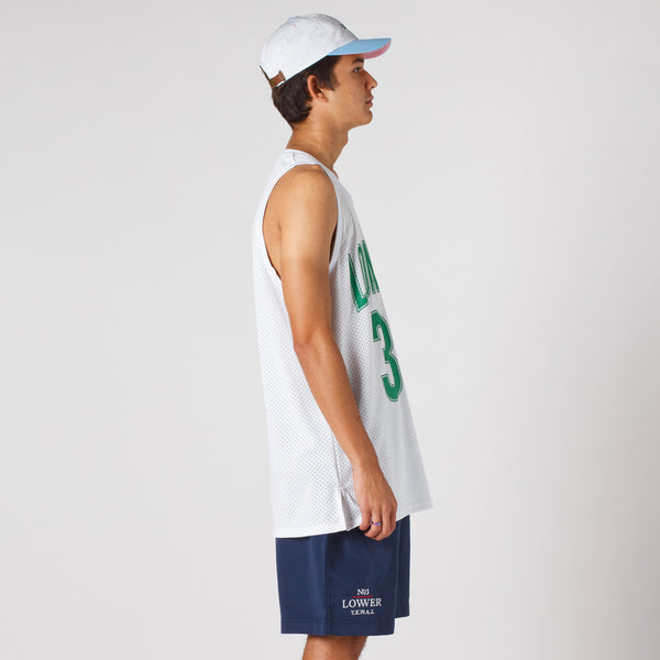 Lower White Layer BBall Singlet / Boston2