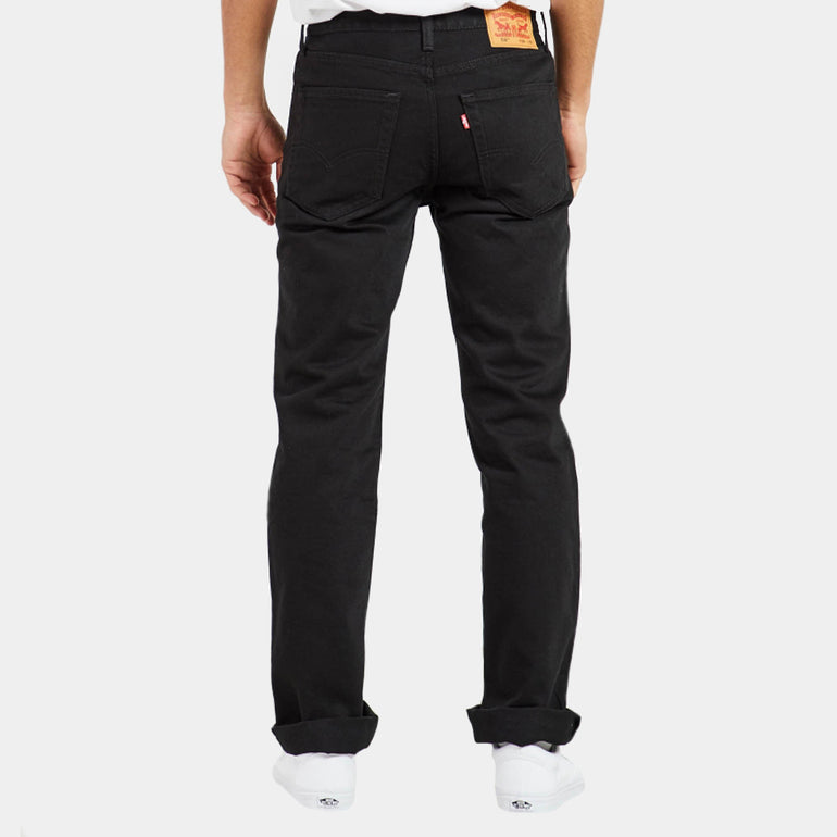 Levi's 516 Slim Fit Straight Jeans in Black Rinse
