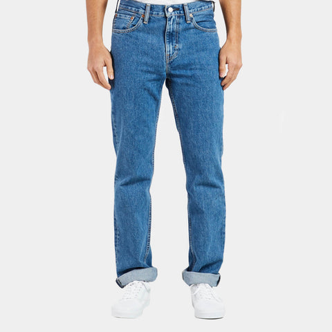 Levi's 516 Slim Fit Straight (Unisex) Jeans - Stone Wash