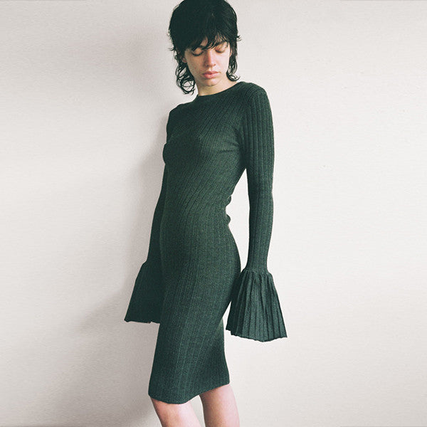 Lonely Lost Knit Dress in Soot