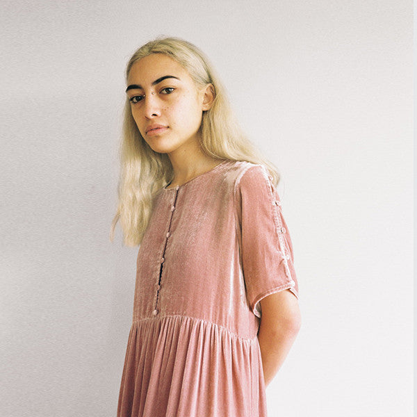 Lonely Lynch Tee Dress in Blush