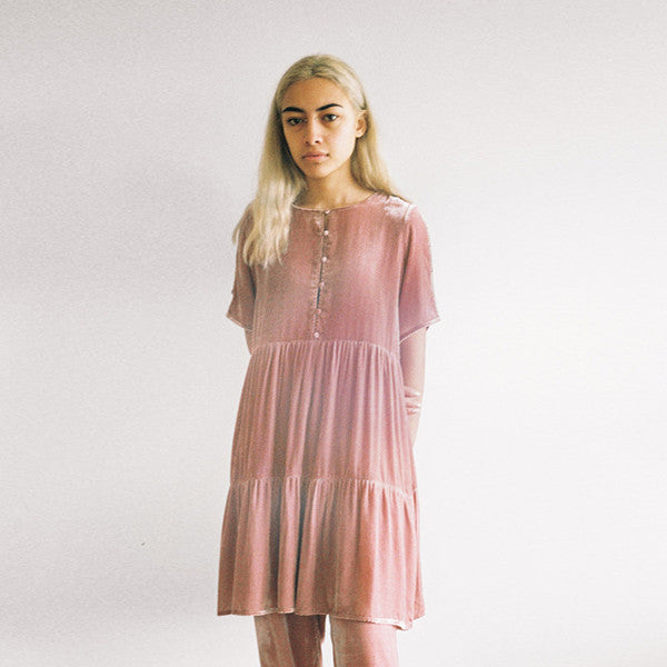 Lonely Lynch Tee Dress (Blush)