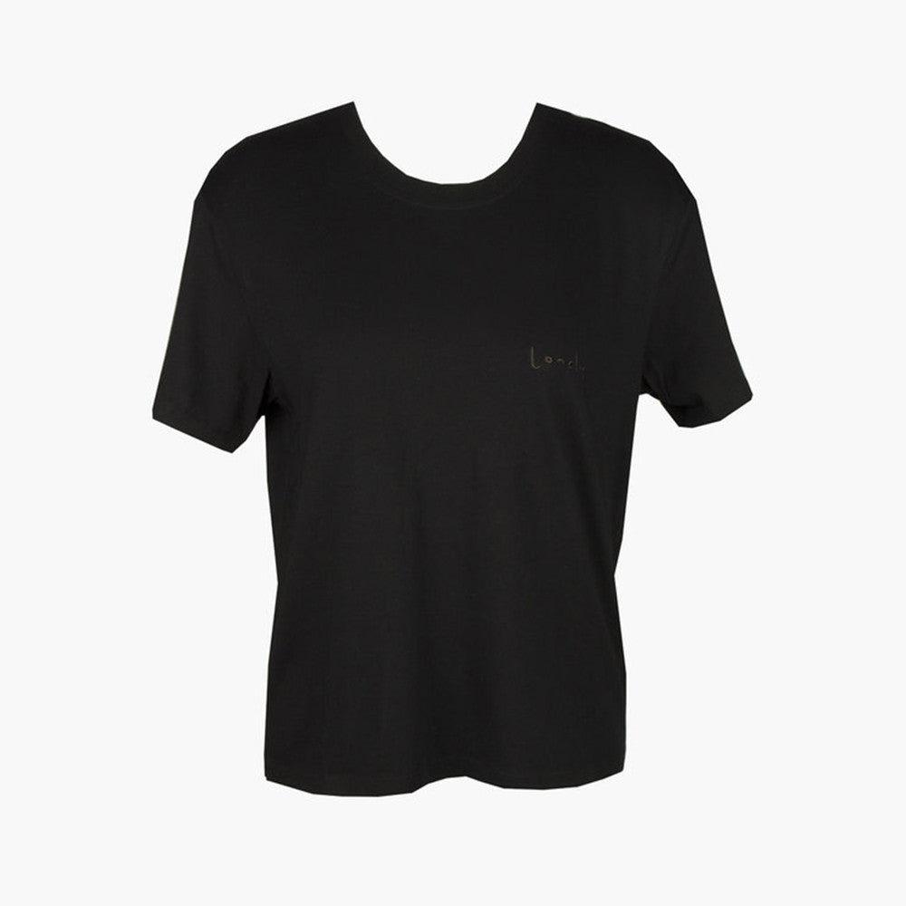 Lonely lonely Tee (embroidered) - Black