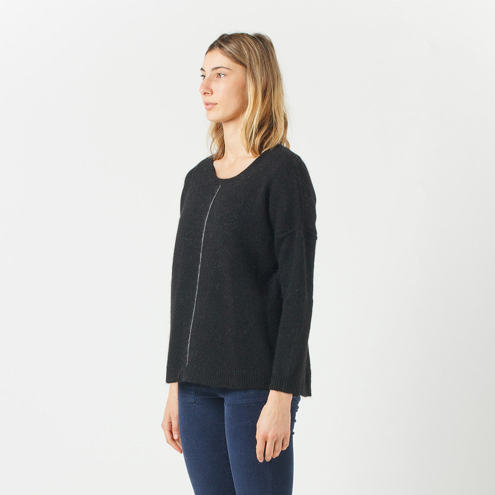 Five Each Loose Fit Knit in Black