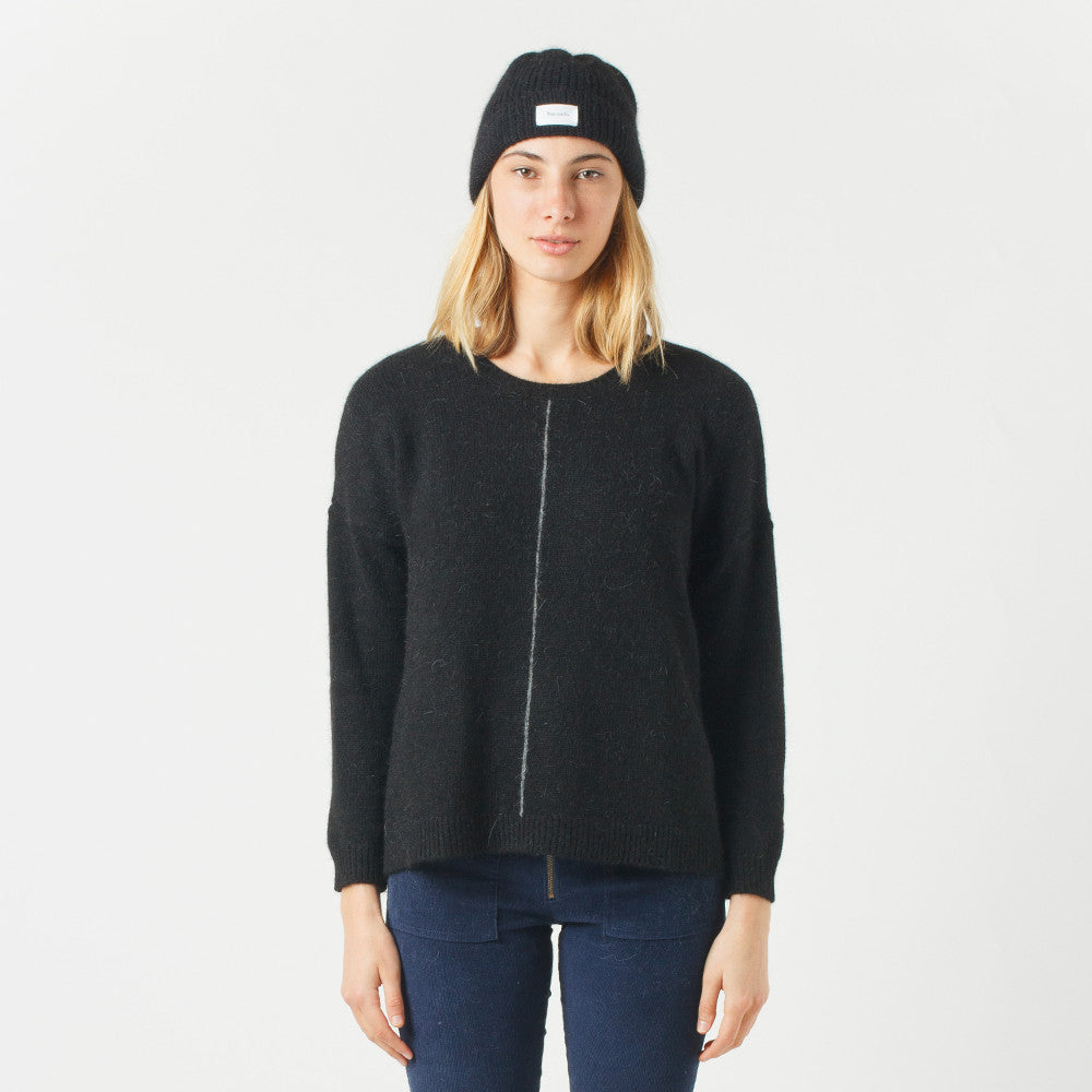 Five Each Loose Fit Knit (Black)