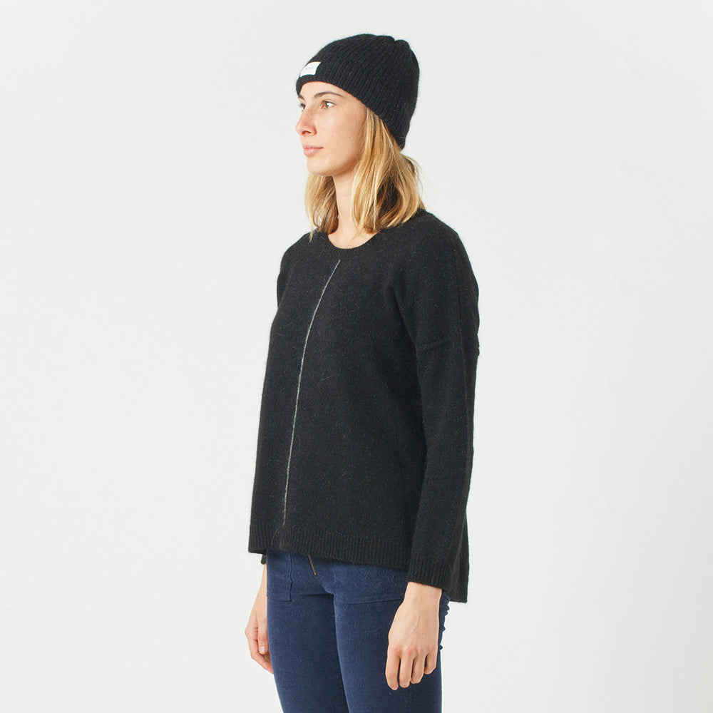 Five Each Loose Fit Knit / Black