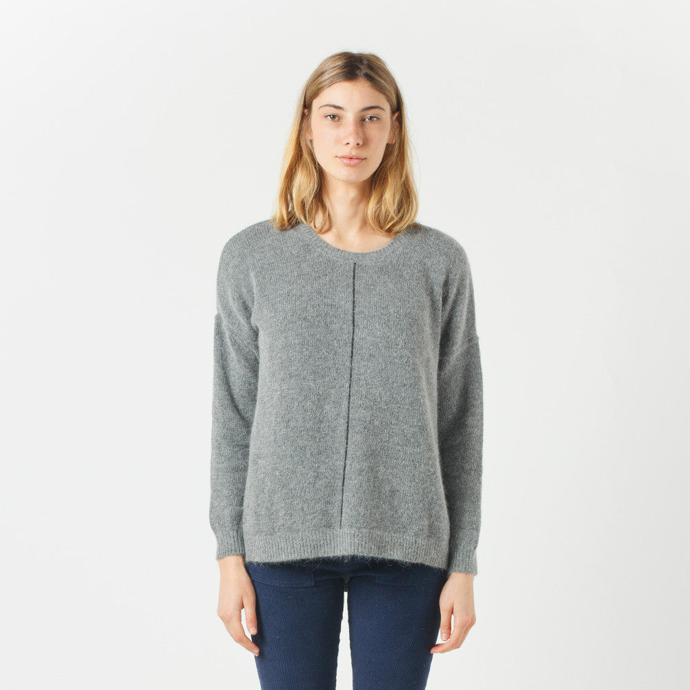 Five Each Grey Loose Fit Knit
