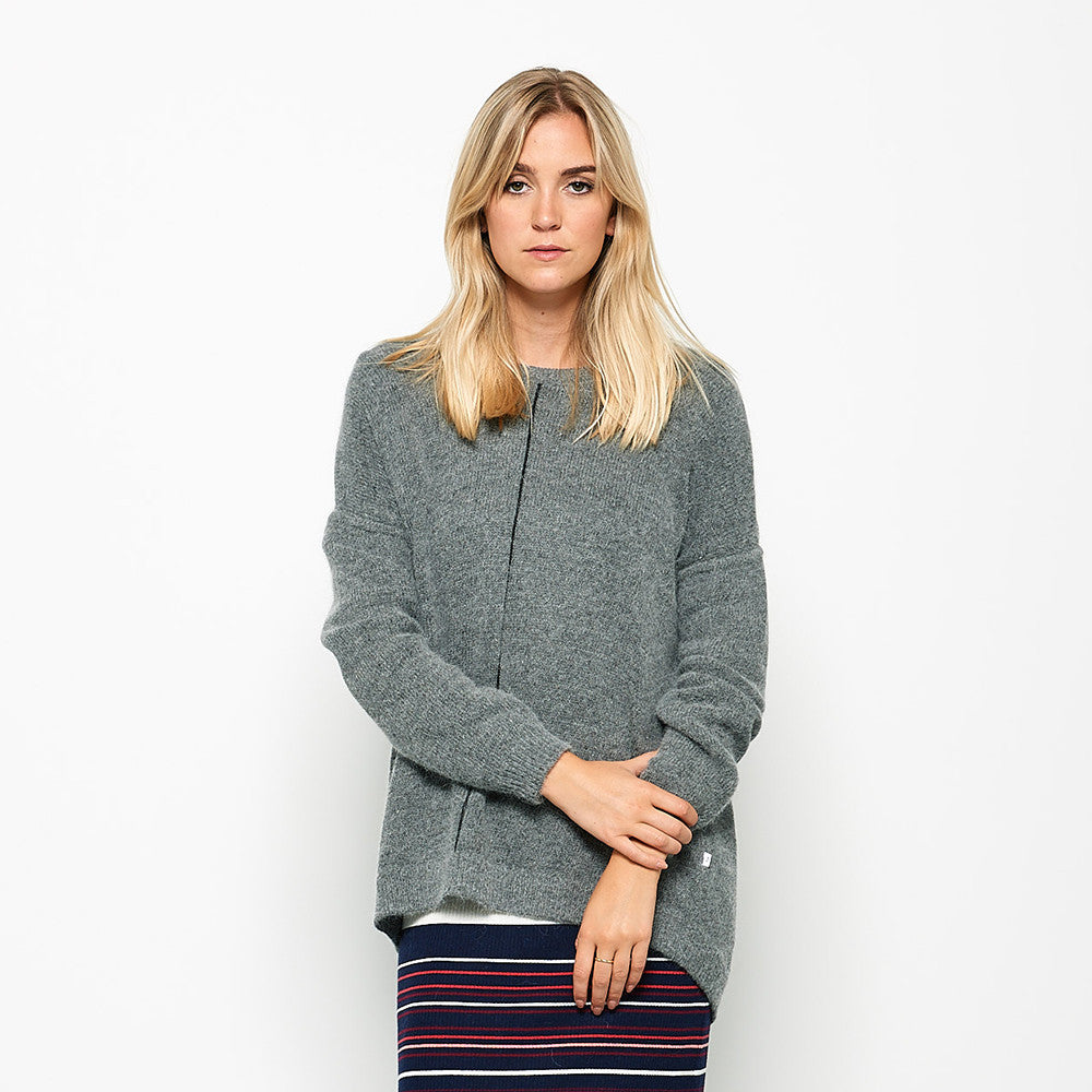 Five Each Loose Fit Knit - Grey