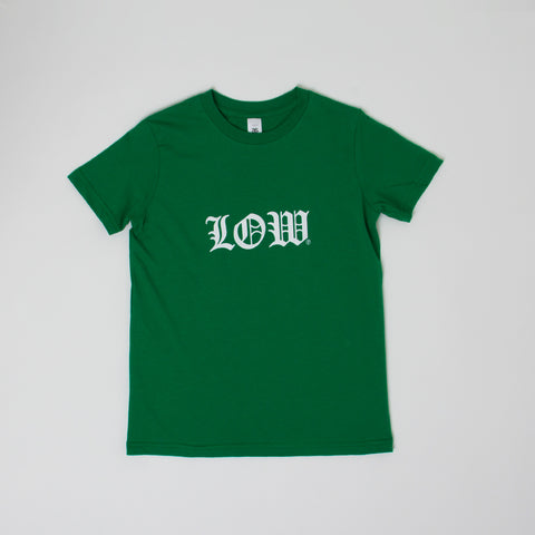 Lower Kids/Youth Tee / Cloister - Kelly Green