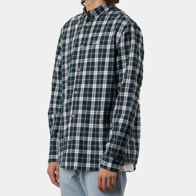 Lower Raf Shirt / Low in Rifle Green