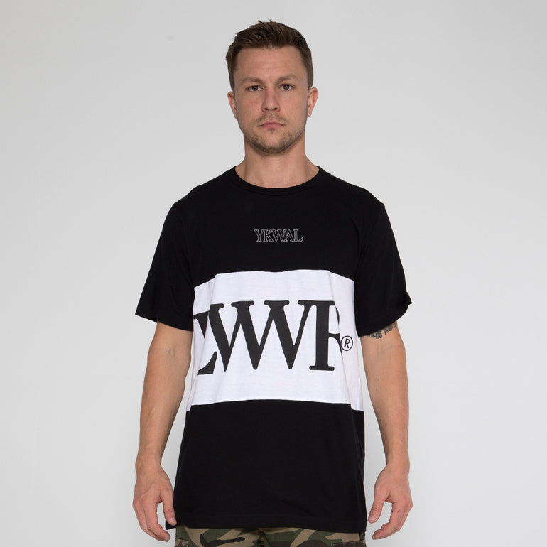 Lower Panel Tee / LWR - Black/White