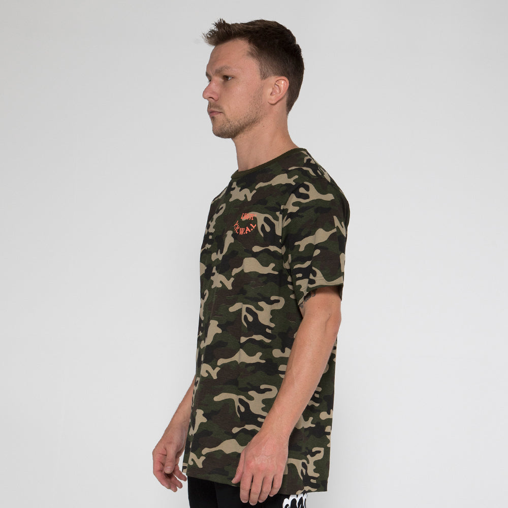 Lower QRS Tee / Cali in Camo