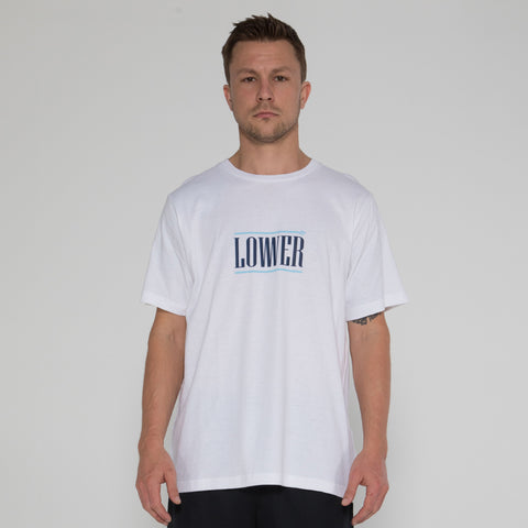 Lower QRS Tee / Hoff - White