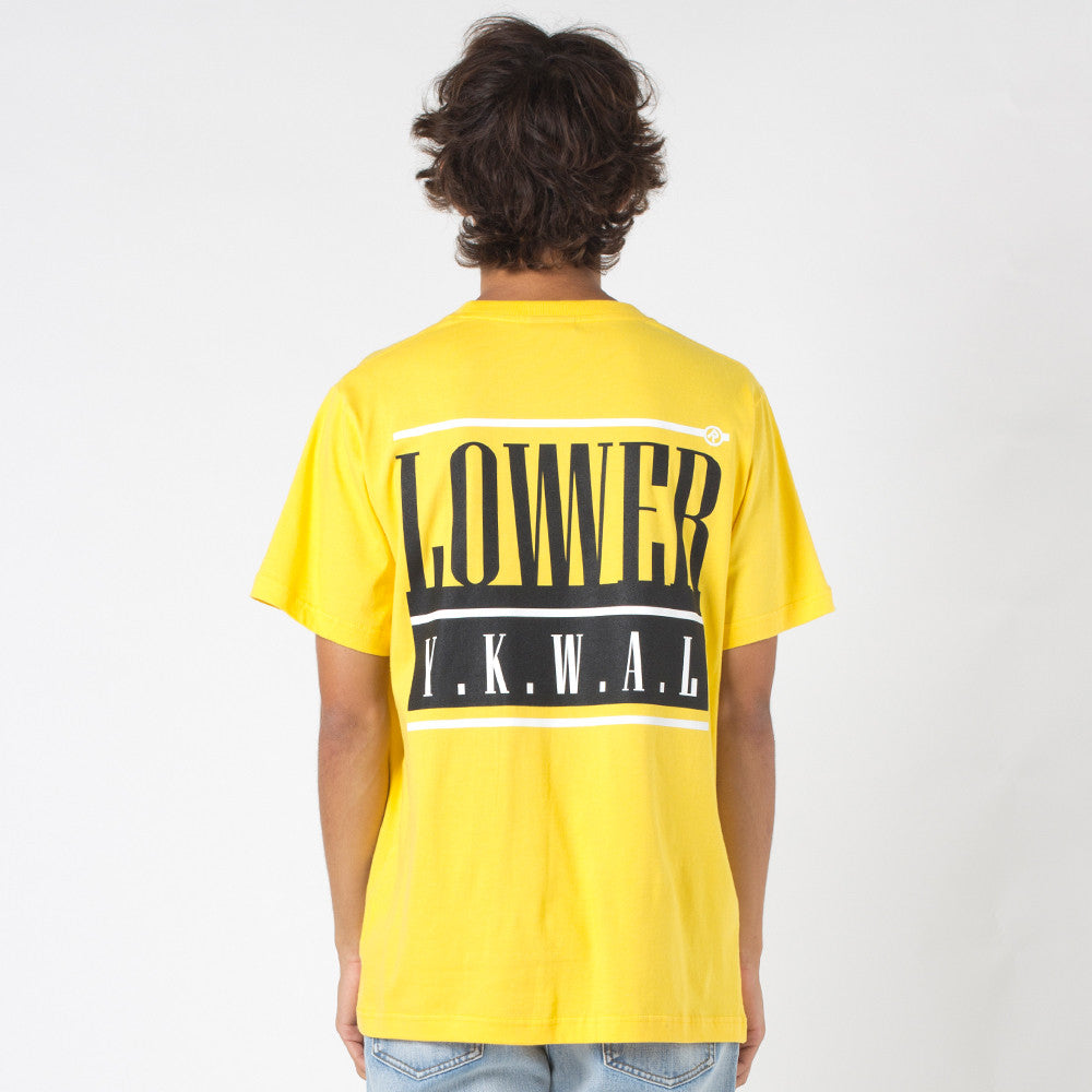 Lower QRS Tee / Hoff Yellow