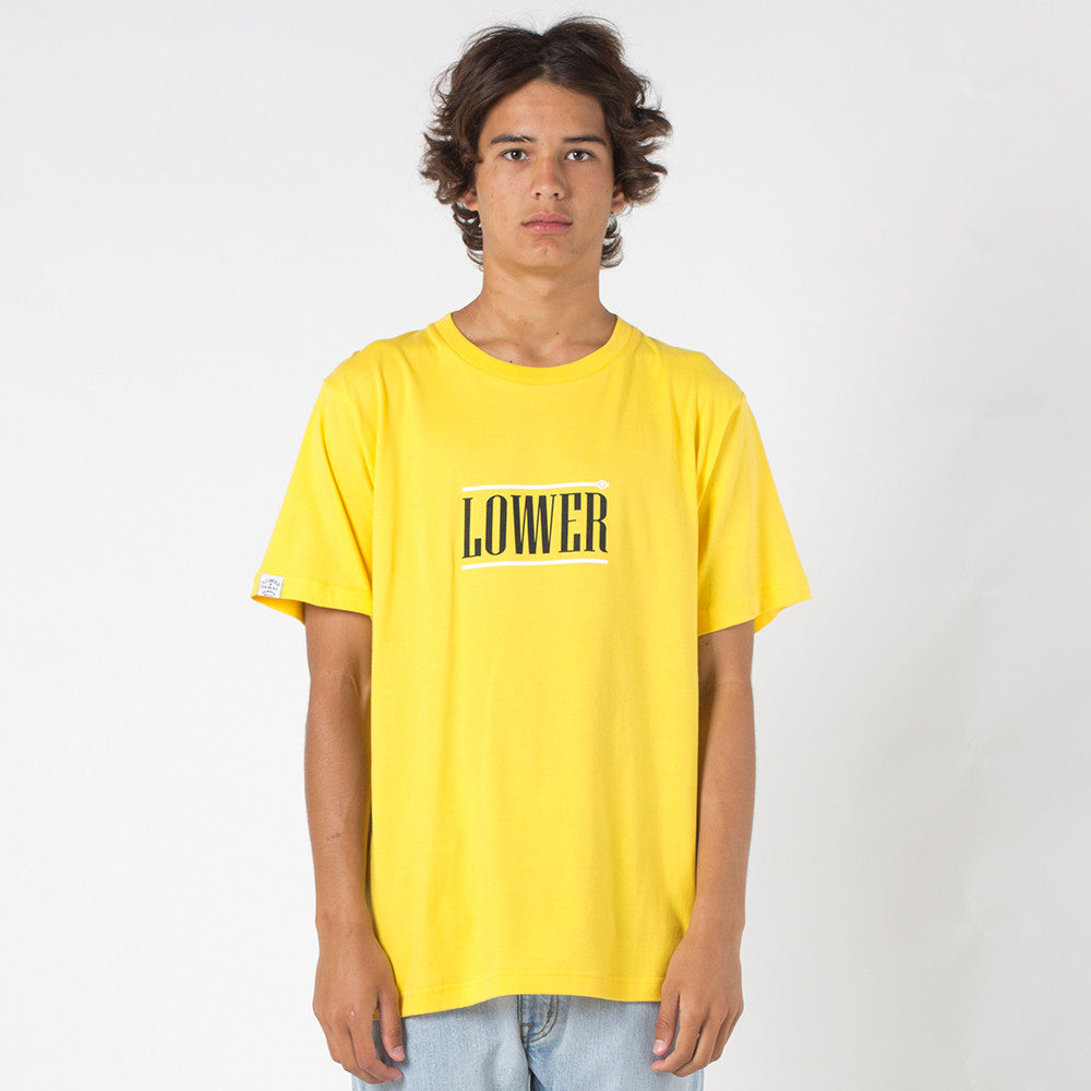 Lower QRS Tee / Hoff - Yellow