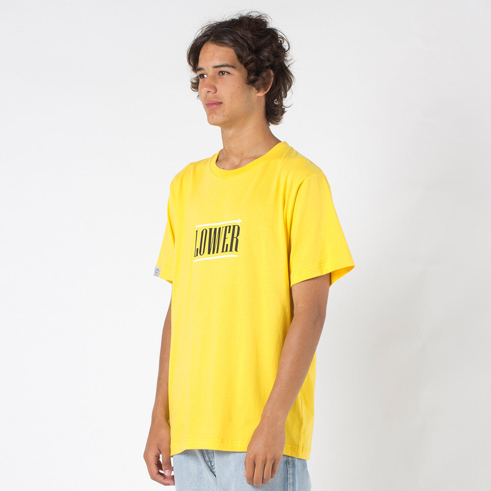 Lower QRS Tee / Hoff in Yellow