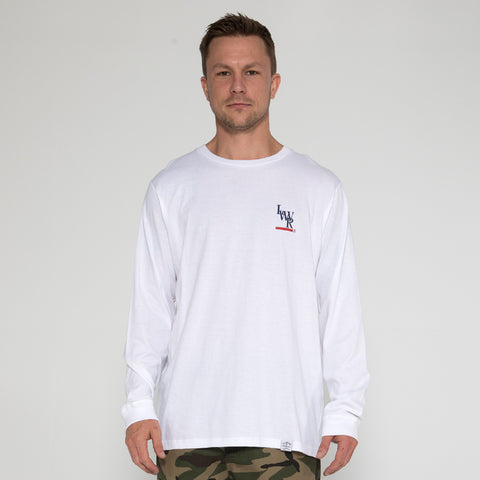 Lower QRS L/S Tee / Lo - White