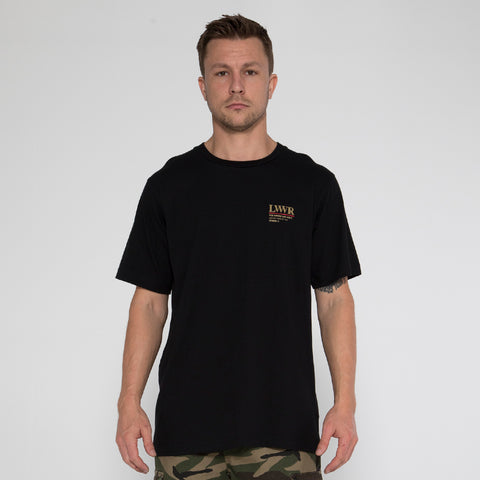 Lower QRS Tee / T-30 - Black