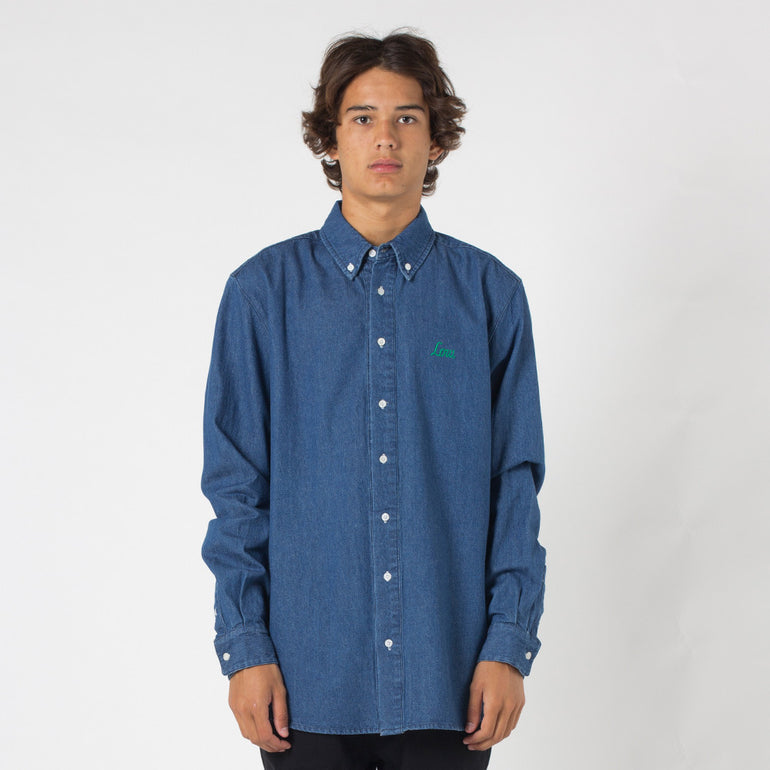 Lower Tim Shirt - Denim