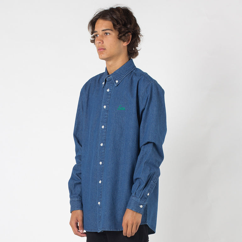 Lower Tim Shirt in Denim
