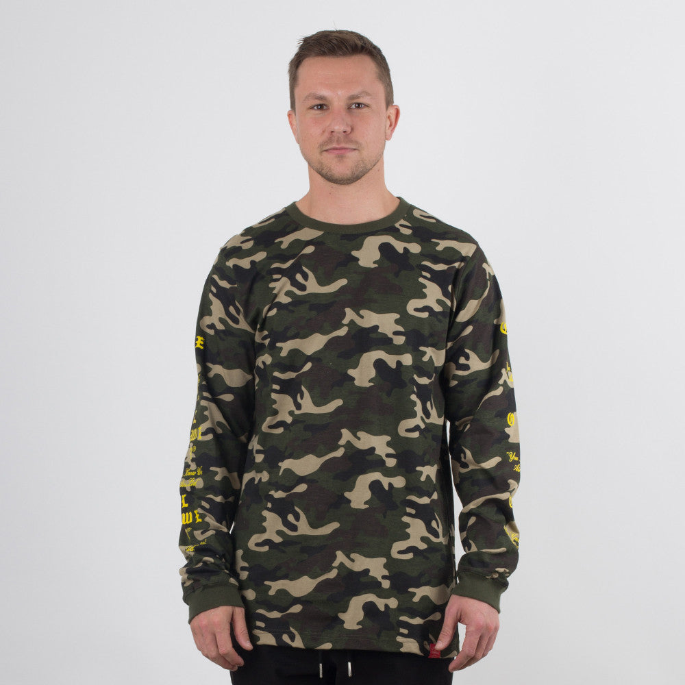 Lower QRS L/S Tee / Crossroads - Camo
