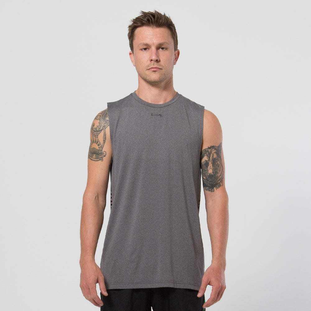 Lower Sport Side Panel Tank - Grey