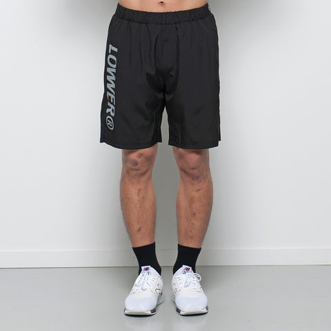 Lower Sport Gym Short / Charger - Black