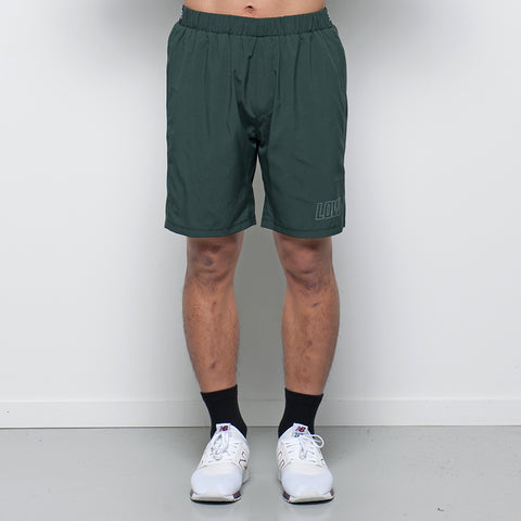 Lower Sport Gym Short / Low Giants - Forest Green