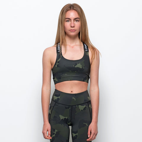 Lower Sport All Sports Bra - Dark Camo