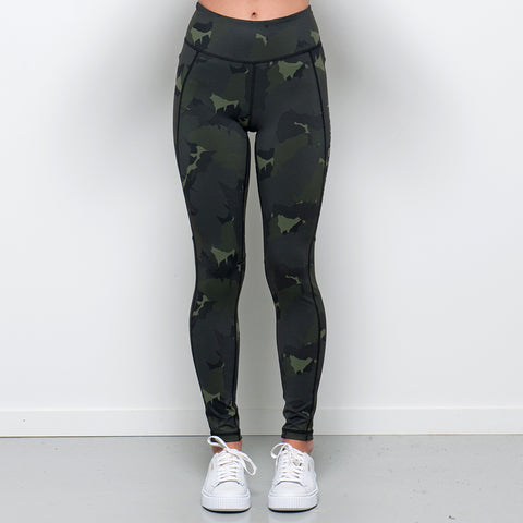 Lower Sport Camo Tights - Camo