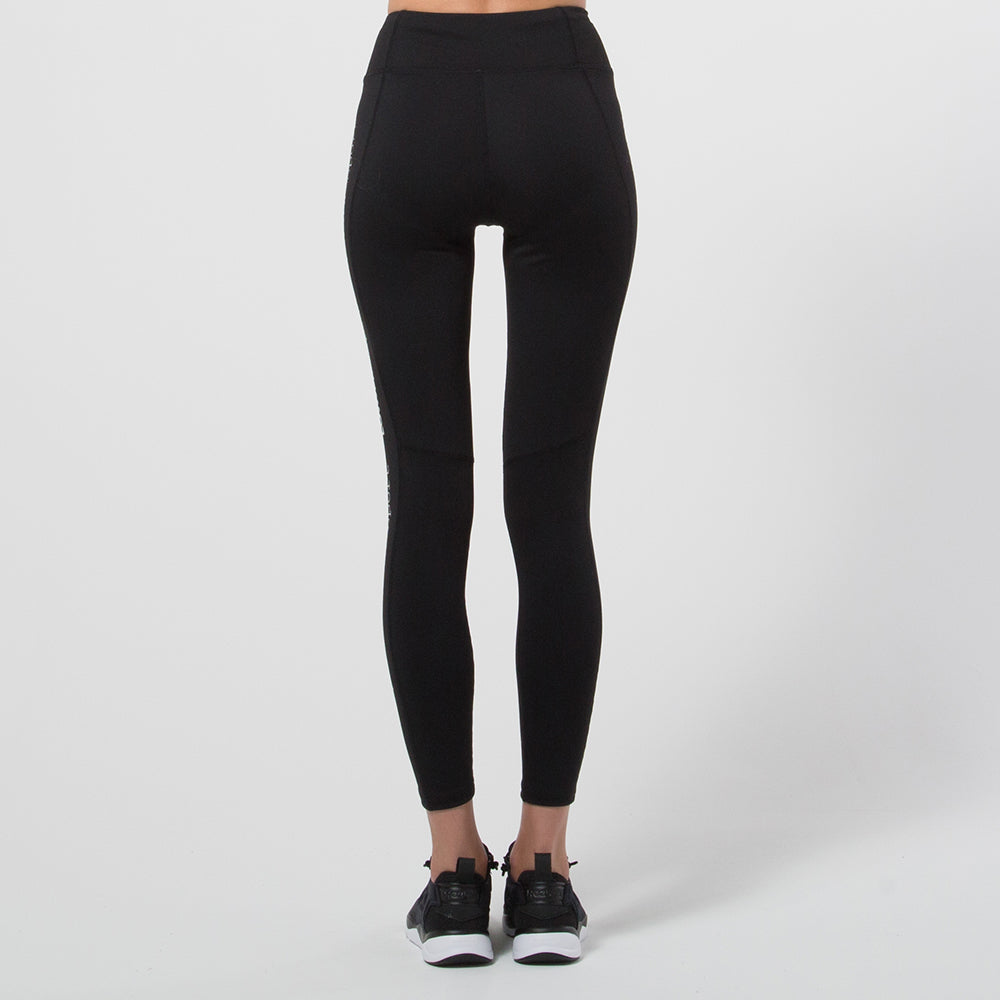 Lower Sport Side Panel Tights Black