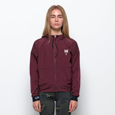 Lower Sport Track Jacket - Maroon