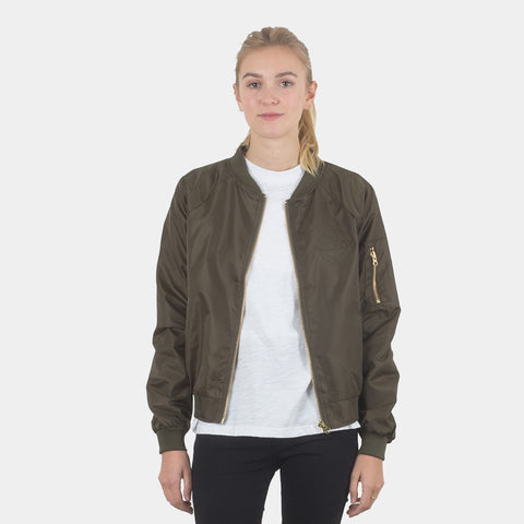 Lower Bailey Bomber Jacket - Olive