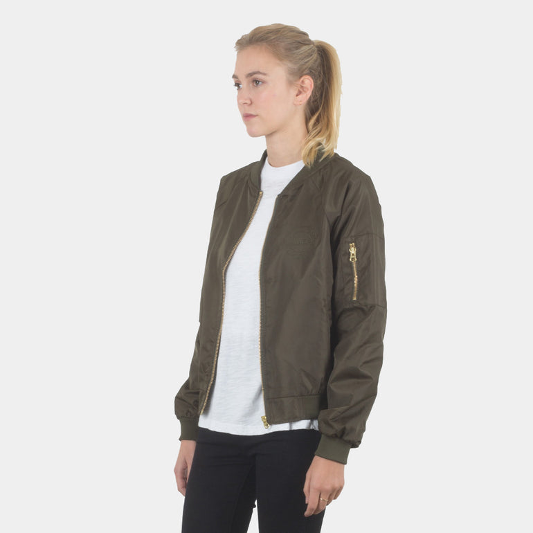 Lower Bailey Bomber Jacket in Olive