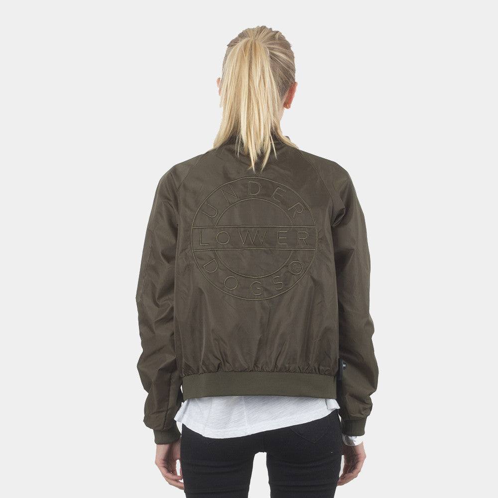 Lower Bailey Bomber Jacket Olive