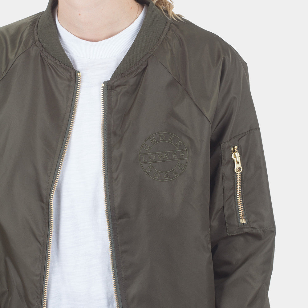 Lower Bailey Bomber Jacket (Olive)