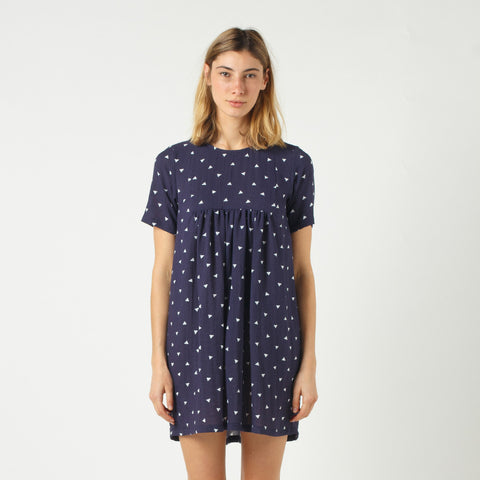 Lower Claudia Dress - Navy