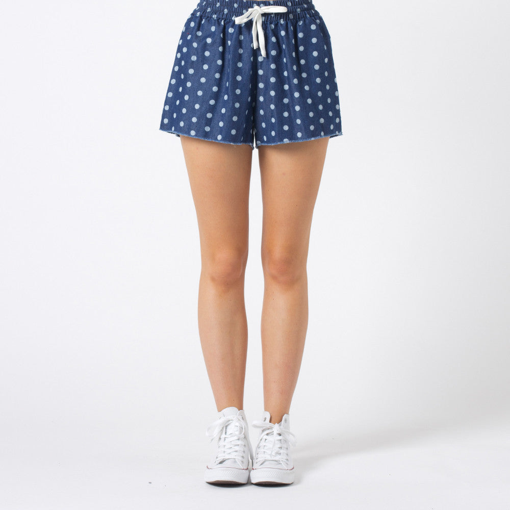 Lower Daylight Shorts - Chambray Spot