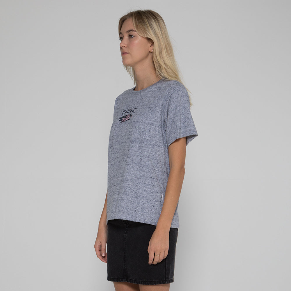 Lower Della Tee / True Romance in Grey Marle