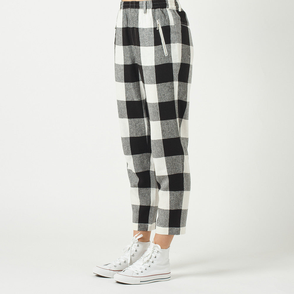 Lower Everyday Pant in Check