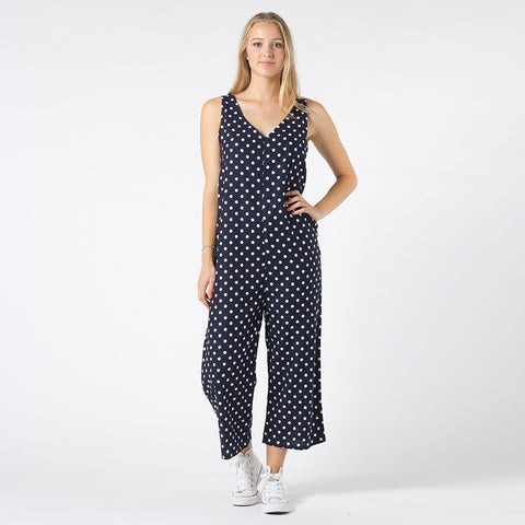Lower Fiona Overalls - Chambray Spot