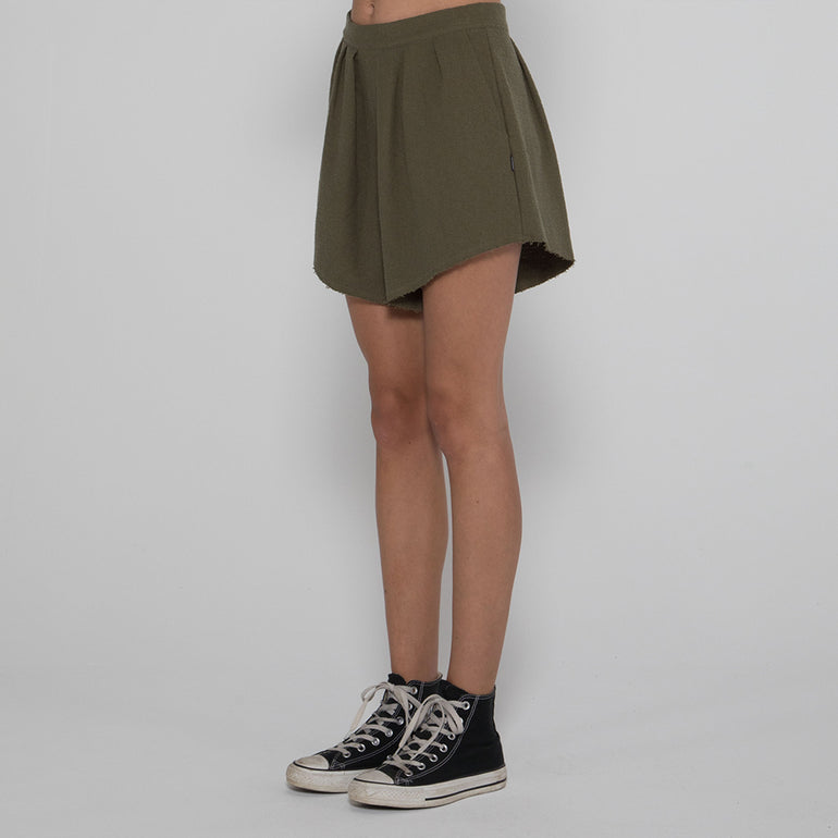 Lower Layla Shorts in Olive